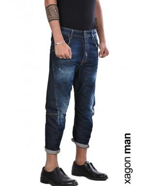 JEANS FHOLL6 Stretch Versione Corta Blu