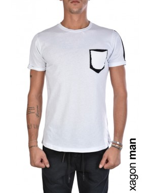 T-SHIRT MD2039 Regular Fit Bianco