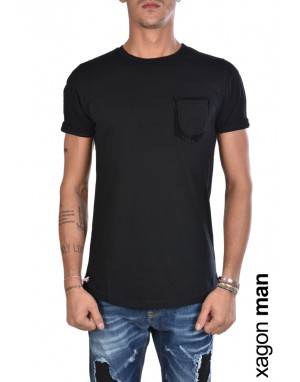 T-SHIRT MD2039 Regular Fit Nero