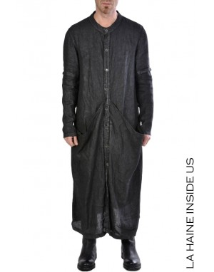 LH DUSTER JACKET 3B RAKIM Black