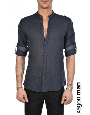 CAMICIA AALBRR Blu