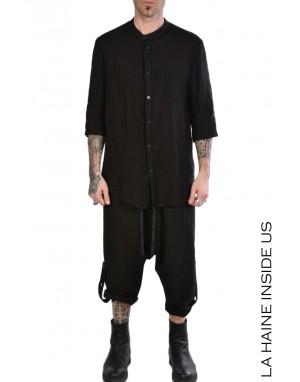 LH SHIRT 3B WOLFE Linen Black