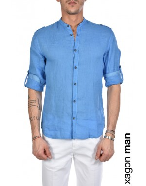 CAMICIA AALBRR Royal