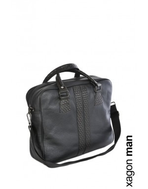 BAG VELLUT Leather Black