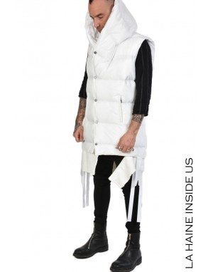LH DOWN JACKET 3P LOUX UNISEX White