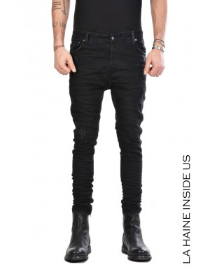 LH JEANS 3P JAMES Skinny Stretch Nero