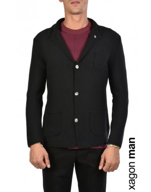 GIACCA CASUAL MD2063 Nero