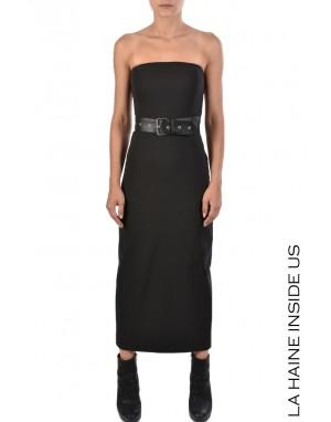 LHW DRESS 4B ECHINOPS Black