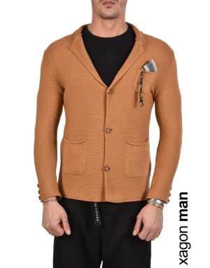 JACKET CASUAL MD9002 Ruggine