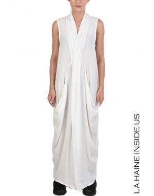 LHW DRESS 4B ATINA White