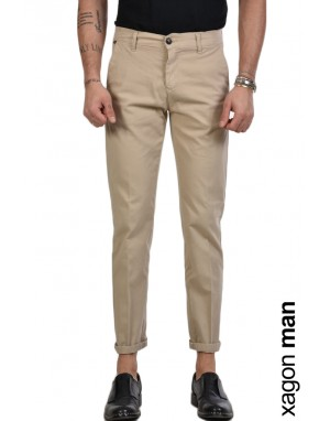 TROUSER CHINO CR3905 Beige