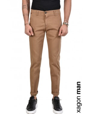 TROUSER CHINO CR3905 Brown