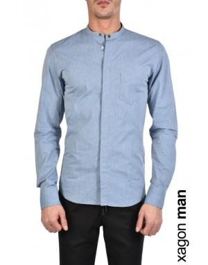 SHIRT AGRIFF Light Blue