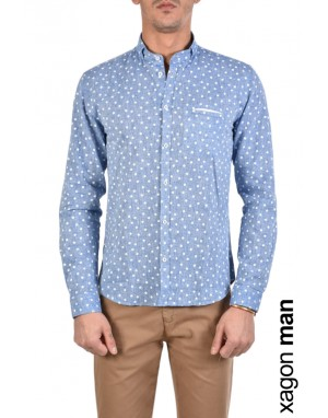 SHIRT ADANGE Light Blue