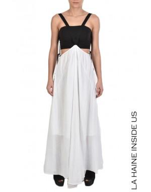 LHW DRESS 4B DYPSIS White