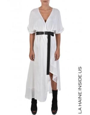 LHW DRESS 4B FERAX White