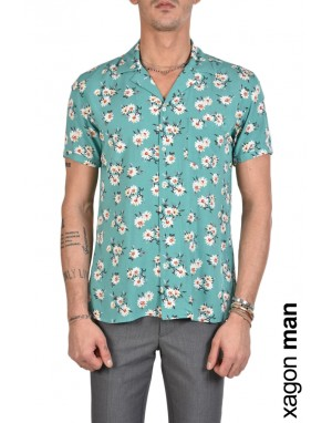SHIRT AGENOV Turchese