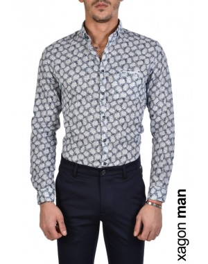 SHIRT AINFAS Blue