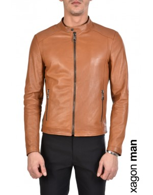 SPORT JACKET BPBASI Leather Cuoio