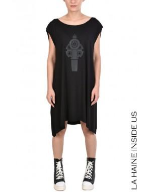 LHW DRESS 4M EDISA Black