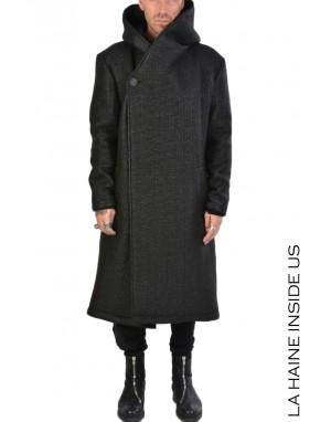 3B DEJAVUE COAT Black