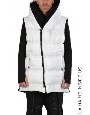 3P AUDIOPLATE DOWN COAT White