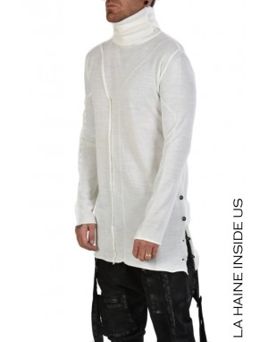 3J NESSUNO SWEATER White