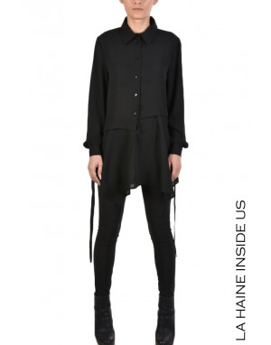 4R COLLINS SHIRT Black