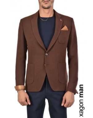 JACKET PE4399 Brown