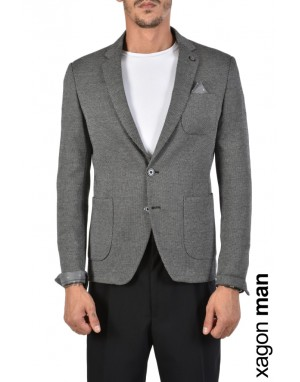 JACKET PE43CO Grey