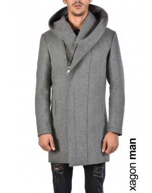 COAT PSCUB1 Grey