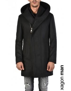 COAT PSCUB1 Black