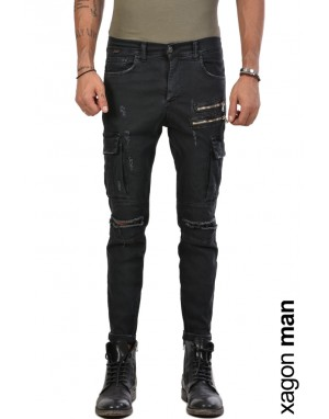 JEANS CR3903 Black
