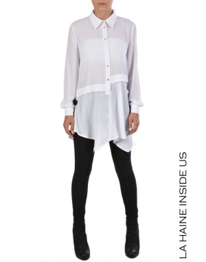 4R COLLINS SHIRT White