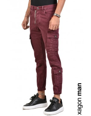 JEANS CR4006 Bordeaux