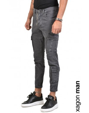 JEANS CR4006 Grey