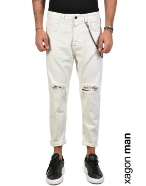 JEANS FIT01 White