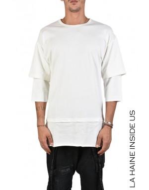 3J DENROH T-SHIRT Bianco