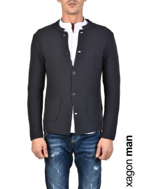 JACKET CASUAL MP231X Blue