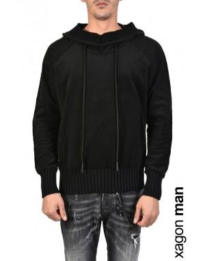 SWEATER Fleece J30052 Black