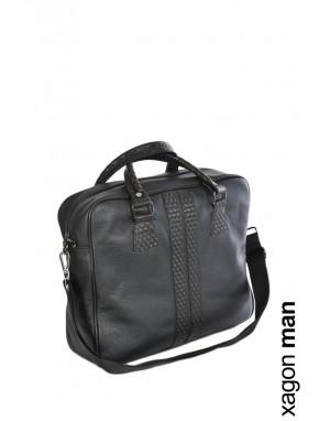 BAG VELLUT Leather Black