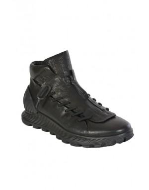 SHOES KIMURA P213154 - Black