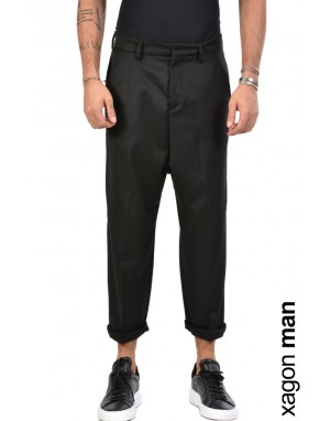 TROUSER FASONT Black