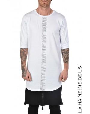 LH T-SHIRT 3M VALEURS Bianco