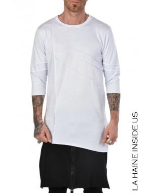 LH T-SHIRT 3M SHOWGUN Bianco