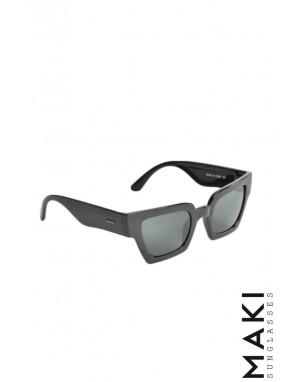 SUNGLASSES HBLK10 Black Lens Green