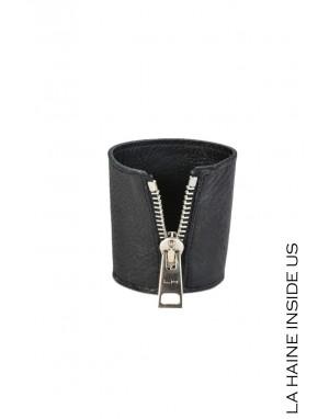 8E OMEGA BRACELET Leather Black
