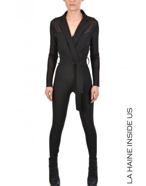4K ISLEY JUMPSUIT Black