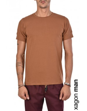 T-Shirt MD1012 Tabacco