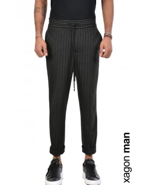 TROUSER PGINEV Black